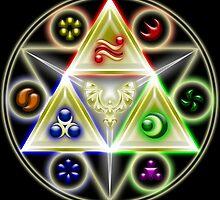 Legend of Zelda Geometria by MrPickIes