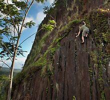 Climbing Pwisehn Malek - Pohnpei, Micronesia by Alex Zuccarelli