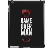 Game Over Man iPad Case/Skin