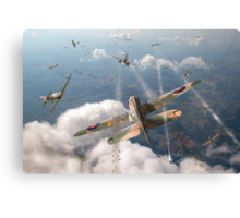 Headlong attack (Hurricanes over Dorset) Canvas Print