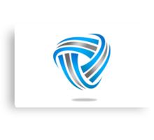 circle-abstract-logo Canvas Print
