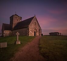 Twilight at St. Martha's by Rachael Talibart
