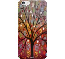 Abstract tree-10 iPhone Case/Skin