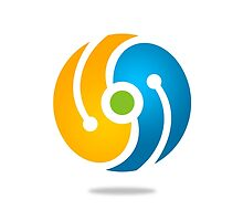 circle-technology-logo by mydigitall