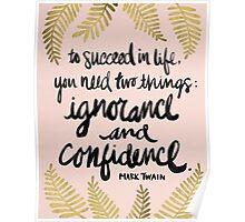 Ignorance & Confidence #2 Poster