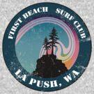 First Beach Surf Club by Megan Noble