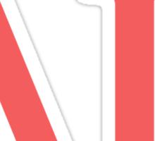 delta gamma pink Sticker