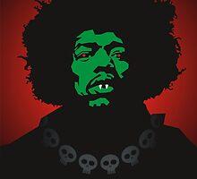 Scary Jimi by Matt Mawson