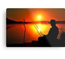 Lake Samsonvale at sunrise. Brisbane, Queensland, Australia. Metal Print