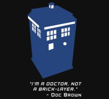 Sci Fi Misquote- Doctor by zenjamin