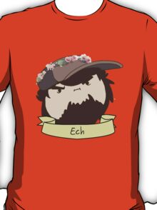 JonTron: The Ech Flower Crown T-Shirt