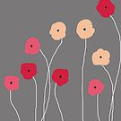 Pink Poppies by VieiraGirl