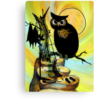 HALLOWEEN FRIGHTS Canvas Print