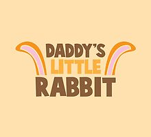 Daddy's little rabbit bunny ears by jazzydevil