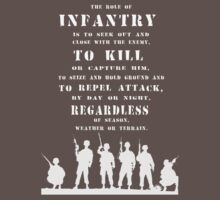 Role of Infantry by docdoran