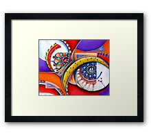Windows of the Soul Framed Print