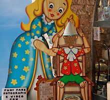 Pinocchio Impersonation by phil decocco