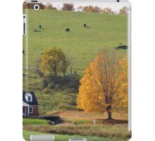 Autumn in the Blue Ridge Mountains iPad Case/Skin