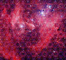 Spiderman Nebula [Trippy Version] | Sacred Geometry Patterns by SirDouglasFresh