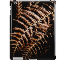 Autumn fern iPad Case/Skin