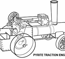 Pyrite Traction Engine by cumbriamart