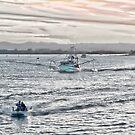 Heading to sea - Richmond River Ballina by KarenEaton
