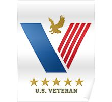U.S. VETERAN....thank you for your service! Poster