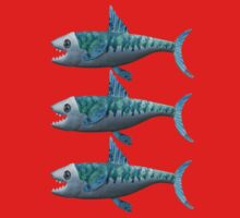 Three Little Fishes Kids Clothes