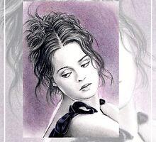 Helena Bonham Carter miniature  HBC4 by wu-wei
