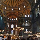Hagia Sophia museum by Nancy Richard
