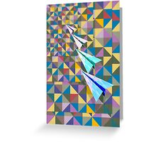 Paper Airplane 70 Greeting Card