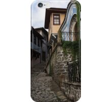 Steep and Twisting Cobblestone Street iPhone Case/Skin