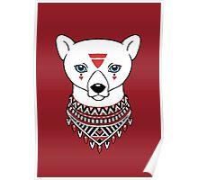 Tribal Bear Poster