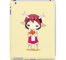 Deer Girl iPad Case/Skin