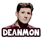 """Deanmon"" Demon!Dean by sonicbowtie"