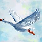 White Goose by freeminds
