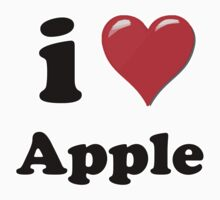 I Love Apple by ColaBoy