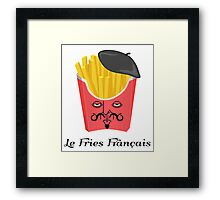Le French Fries from France Framed Print