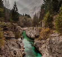 Lepena Valley, Slovenia by Curtis Budden