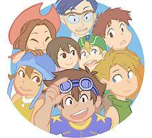 Digimon Adventure - DigiDestined by wattleseeds