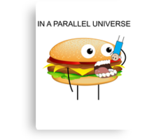 In a parallel universe Canvas Print