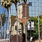 Los Angeles Reflection by Marylou Badeaux