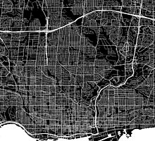Toronto (Black) by CartoCreative