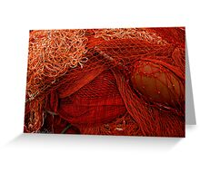 The wild and magic beauty of fishing nets ~ 08 Greeting Card