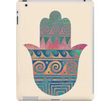 Hamsa hand iPad Case/Skin