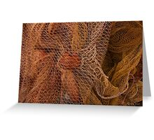 The wild and magic beauty of fishing nets ~ 13 Greeting Card