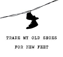 Old Shoes. by Caitlin Cameron