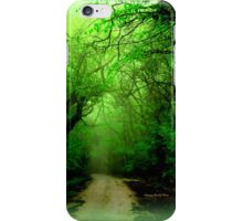 Misty Morning in the Forest iPhone Case/Skin