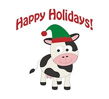 Happy Holidays! Cow Elf by Eggtooth