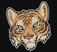 Tiger T-Shirt by cybercat